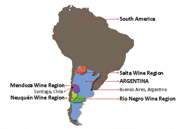 Top Argentina Wine Regions Exploring Wine Regions - Argentina map salta