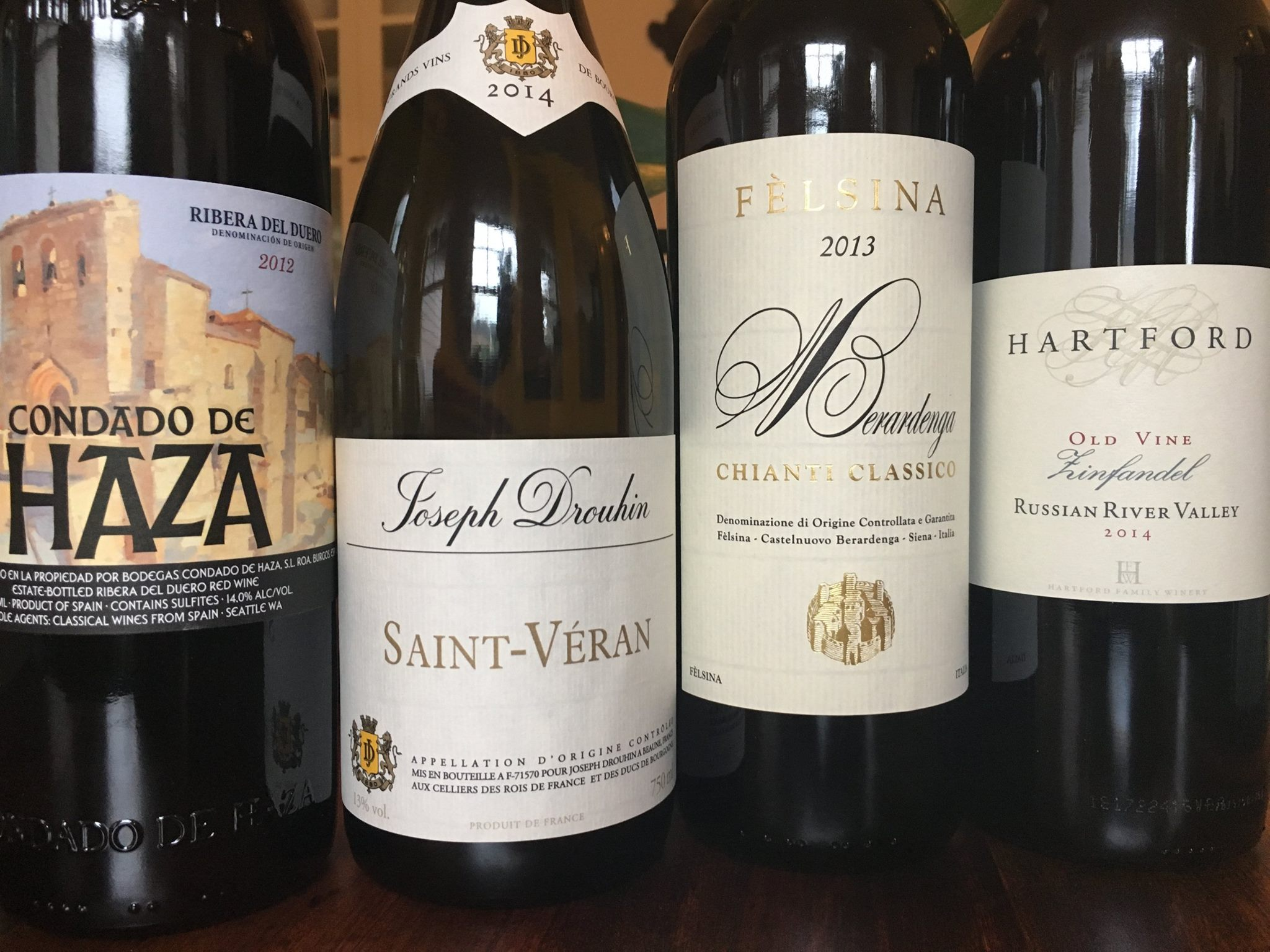 What do these four wines have in common?